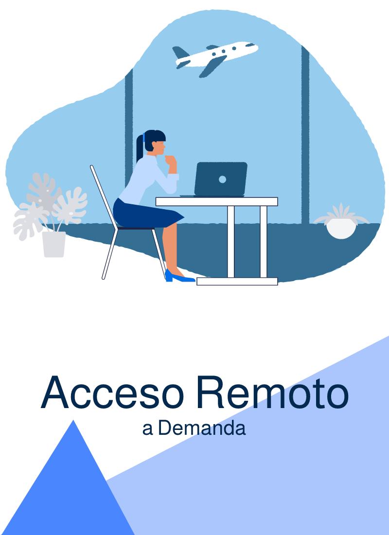 Acceso remoto a demanda